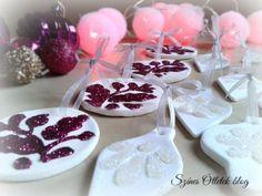 Salt Dough, Wedding Thank You, Xmas Tree, Winter Christmas, Clay, Ornaments, Desserts, Crafts, Cement