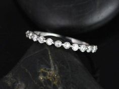 4TCW Russian Lab Diamond Bridal Set Wedding Band Eternity Ring