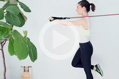 Key Son's Resistance Band Workout - Into The Gloss Workout Guide, Workout Videos, Fun Workouts, At Home Workouts, Workout Routines, Cellulite Exercises, Home Treatment, Resistance Band Exercises, Exercises