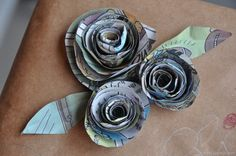 Recycled+Paper+Crafts+Projects | Happy Earth Day: Recycled Crafts and Projects