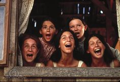 Neva Small, Rosalind Harris, and Michele Marsh as Chava, Tzeitel, and Hodel - Fiddler on the Roof Old Movies, Great Movies, Amazing Movies, Love Movie, Movie Tv, Movie Photo, Color Composition, Fiddler On The Roof, Movies