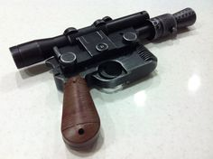 STAR WARS A New Hope Han Solo Luke Skywalker DL44 Blaster Movie Prop Replica gun on Etsy, $66.95