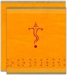 Hindu Indian wedding invitation