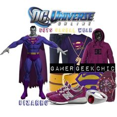 """""""DC Universe Online - Bizarro"""" by gamer-geek-chic on Polyvore"""
