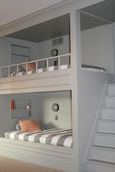 built-in bunk