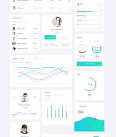 beautiful components for prototyping, design & developing amazing dashboard apps.Exclusive and modern Dashboard UI Kit with over 130 custom designed components is perfect match for your next dashboard app. Data Dashboard, Dashboard Design, Ui Design, Formulários Web, Mobile Web Design, User Experience Design, Ui Elements, Web Inspiration, Wireframe