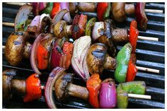 Sandra's Grilled Balsamic Veggies