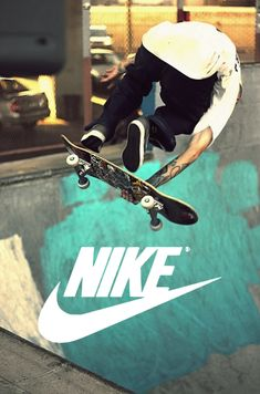 skateboarding nike photography