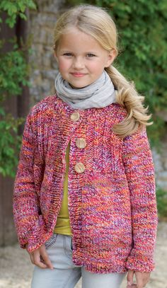Easy Knit 2 To 13 Years Rustic Chunky Cardigan Knitting Pattern Sirdar 2273 by FenlandGreen on Etsy Chunky Cardigan, Chunky Yarn, Crochet Cardigan, Chunky Knitting Patterns, Christmas Knitting Patterns, Crochet Fall, Knit Crochet, Irish Crochet, Knitting For Kids