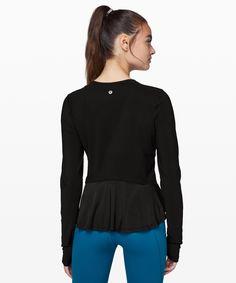 lululemon Women's Look Ahead Run Long Sleeve, Black, Size 2 Gym Tops, Looking For Women, Long Sleeve Tops, Hoodies, Sleeves, How To Wear, Jackets, Clothes, Lululemon Athletica