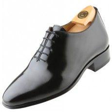 Modelo 7000 N HiPlus. Zapatos con Alzas HiPlus modelo 7000 N, fabricado en florantic negro, forrado en ternera. Lleva suela de cuero cosida. Es de estilo italiano e ideal para ceremonias.