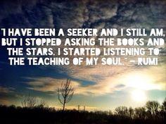 Rumi Quote Yoga Inspirational