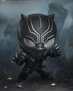 I want to squeeze this baby black panther He is so cute !! Art by Surasak Jaipuk  #marvelcomics #Comics #marvel #comicbooks #avengers #captainamericacivilwar #xmen #xmenapocalypse  #captainamerica #ironman #thor #hulk #hawkeye #blackwidow #spiderman #vision #scarletwitch #civilwar #spiderman #infinitygauntlet #blackpanther #guardiansofthegalaxy #deadpool #wolverine #daredevil #drstrange #infinitywar #thanos #magneto #cyclops http://ift.tt/29gQeVQ