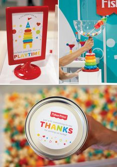 CHEERS to new experiences! Last month, I designed a cocktail party for Fisher-Price® that was hosted in a different sort of venue than I'm personally used