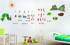 Hungry Caterpillar wall stickers