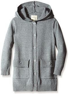 (FOR LILY) Amazon - Scout + Ro Girls Hooded Button-Front Cardigan Sweater   -- 100% Cotton, Sizing = Up to Junior 16   -- 4.5/5-Star Average Feedback   -- NOTE: Mixed Reviews on Clothing Brand on the Whole... CHECK-OUT