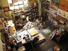 Art studio = happiness