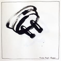 Ramiro Pareja Herrera. 2012. Tinta a pincel