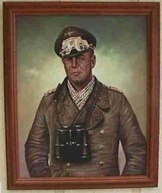 Painting of Field Marshal Rommel. http://www.germaniainternational.com/images/paintrommel04.jpg