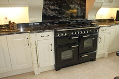 Cosmic Black Granite Kitchen Countertop