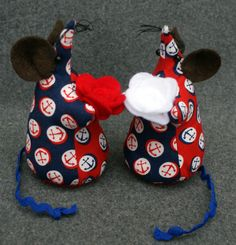 New Ahoy There! colourways in our Make Me Mimi Mouse Kits