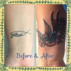 wrist tattoo cover up   My tattoo cover up on my wrist! I love it!!!   Tattoos