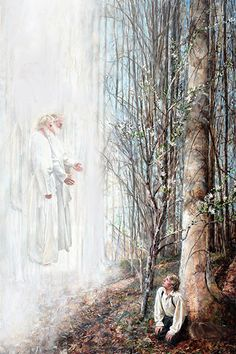 lds artwork ~ lds art + lds artwork + lds art modern + lds art jesus + lds art paintings + lds articles of faith printable + lds articles of faith + lds art women Joseph Smith, Joseph Joseph, Paintings Of Christ, Religious Paintings, Art Paintings, Spiritual Paintings, Lds Pictures, Sacred Groves, Pictures Of Jesus Christ