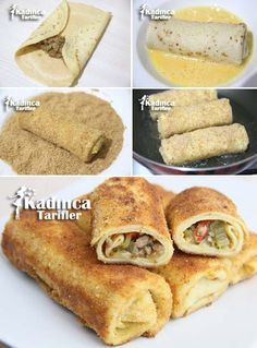 Crepe Hunter Pastry Recipe, How To . - Womanly Recipes - Delicious, Practical and Most Delicious Recipes Site - Crepe Hunter Pastry Recipe - Greek Cooking, Cooking Time, Pastry Recipes, Cookie Recipes, Donut Recipes, Most Delicious Recipe, Crepe Delicious, Delicious Donuts, Food Articles