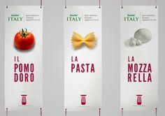 Lovin'Italy | Brand Identity | by Mattia Iacobelli, via Behance