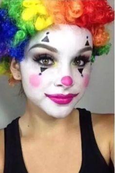 Clown Face … More