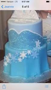frozen birthday cake - Google Search