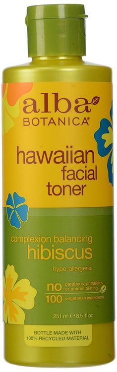 Alba Botanica, Facial Toner, Hibiscus, 8.5 oz ** This is an Amazon Affiliate link. Read more at the image link.