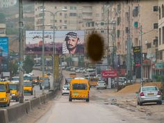 In the streets of Ramallah