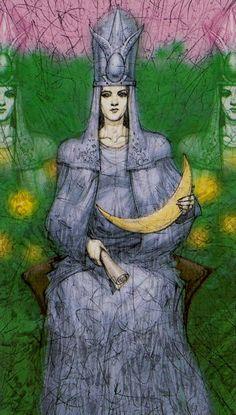 The High Priestess - Tarot of Reflections