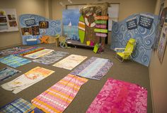 Bible Lesson Time area (Lifesaver Lesson Time) decoration ideas for Ocean Commotioin VBS 2016