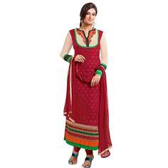 World's Most Selling Ashma Beige Attractive Salvar Suit