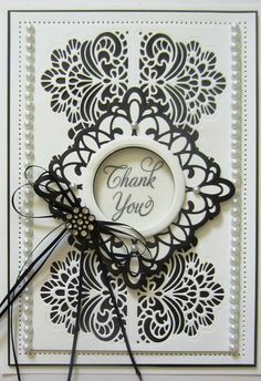 PartiCraft (Participate In Craft): Thank You June 2016 Spellbinders Cards, Die Cut Cards, Fathers Day Cards, Sue Wilson, Greeting Cards Handmade, Diy Cards, Handmade Crafts, Making Ideas, Thank You Cards