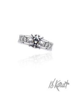 Brenda's Engagement Ring   18Karat