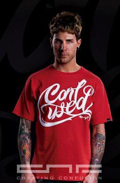 camiseta de la marca de ropa urbana hip hop street wear cnf wear