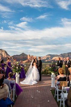 Editors' Picks: Mountain Wedding Venues - Sky Ranch Lodge in Sedona, Arizona - see more mountain wedding venues on @weddingwire! {Photo courtesy of The Sky Ranch Lodge}