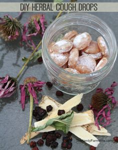All natural #Herbal Cough Drops #DIY ♡ Click for the website or save the PDF