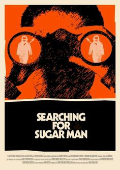 Searching For Sugar Man Film Poster by Sharm Murugiah, via Behance Alternative Art, Alternative Movie Posters, Film Quotes, Music Quotes, Searching For Sugar Man, Light In August, Oscar Nominated Movies, Music Documentaries, Cartoon Video Games