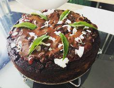 Liszt- cukor- tej nélküli brownie! Egyszerű mutatós és fincsiii! #mutimiteszel #mutimiteszel_fitt #cleaneating #cake #fitfam #brownie #lowcarb #nosugar #eat #clean by cyntia_manon