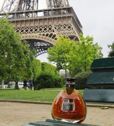 Faced with the iron lady time stands still... Are you ascended on high? #cognac