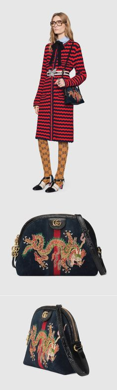 Trends 2018 - Ophidia embroidered small shoulder bag #streetwear #fashionstreetwear #fashionweek #streetwear2018 #gucci #guccigang #trends2018
