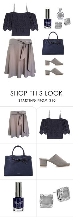 """""""Untitled #4833"""" by im-karla-with-a-k ❤ liked on Polyvore featuring Yael Rozmarin, Ganni, Mansur Gavriel, Topshop, Kate Spade and Boadicea the Victorious"""