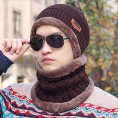 09b6ac1af7522 Winter Set  Hat Scarf (6 colors). Fashion TopFashion HatsUnisex  FashionFashion AccessoriesFashion WomenScarf HatKnit ...