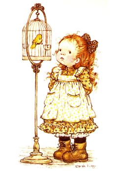 Makes me think of WOODSTOCK, our daughter's canary