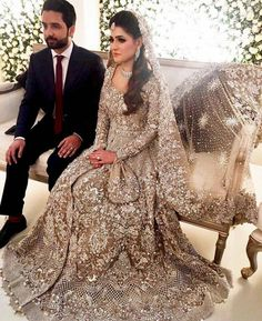 30 Stunning Pakistani Bridal Walima Dresses for Your Inspiration 30 Stunning Pakistani Bridal Walima Dresses for Your InspirationWalima is an extremely significant day of the wedding and requests consummat Pakistani Wedding Dresses, Indian Wedding Outfits, Bridal Outfits, Indian Outfits, Asian Bridal Dresses, Indian Dresses, Walima Dress, Desi Bride, Desi Wedding