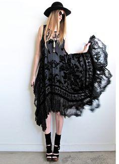 Black Lace Dress ❤
